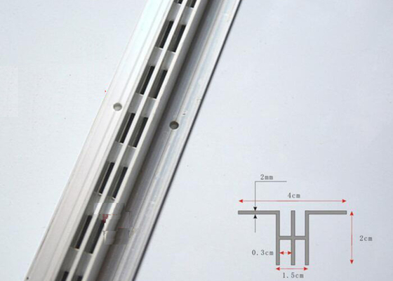 Height Size 2.2M AA Pillar Display Stand Accessories For Shop Wall Display