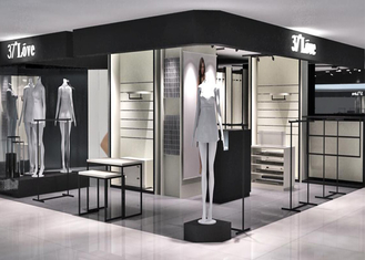 Chain Store Garment Shop Display Stands , Luxury Clothing Display Fixtures