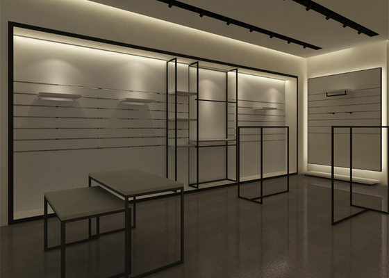 Custom Bra Chain Store Display Fixtures / Apparel Display Racks For Shopping Mall