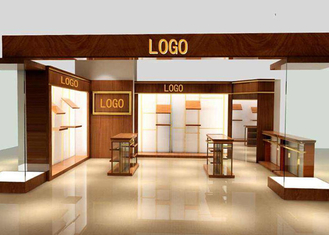 Custom Color Retail Clothing Display Racks And Shelves For Chain Shop / Hypermarket