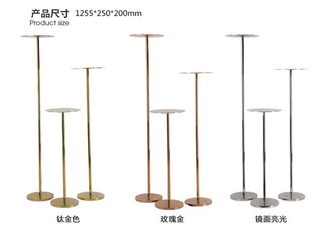 304 Steel Display Stands Store Display Props For Shoes , Bags , Books
