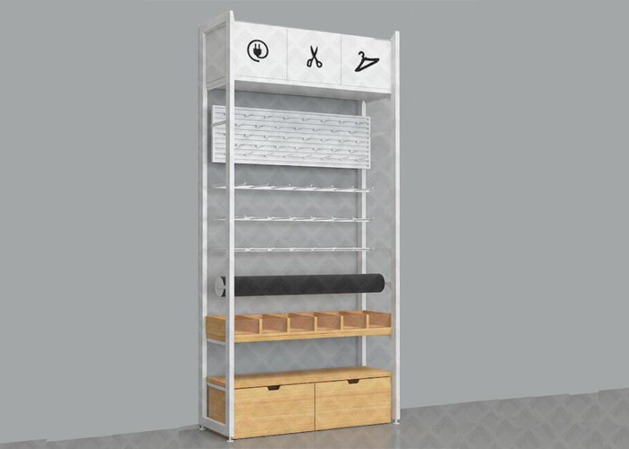 Modern Plywooden Making Retail Display Shelves / Grocery Store Shelving