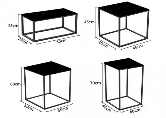 Fashion Garment Display Stands For Shopping Mall / Shop Display Tables